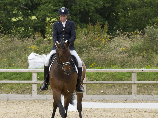 Beacons British Dressage 5 July 2014 - Advanced Medium Test 98